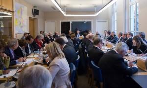 Réunion de la Commission des Affaires étrangères, de la Défense et des Forces Armées le 21 janvier 2015