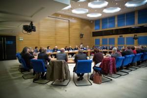 3 décembre 2014 : Dans le cadre de l'examen de la PPR sur la reconnaissance par la France d'un État palestinien, la commission des affaires étrangères, de la défense et des forces armées a procédé à une série d'auditions.