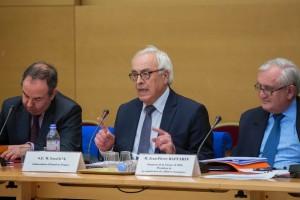 3 décembre 2014 : Audition de Yossi Gal, ambassadeur d'Israël en France, et Jean-Pierre Raffarin (UMP - Vienne), président de la commission.