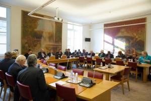 11 mars 2015 : la Délégation à l'Outre-mer a auditionné le secrétaire d'État chargé des transports, de la mer et de la pêche auprès de la ministre de l'écologie, du développement durable et de l'énergie : Alain Vidalies.