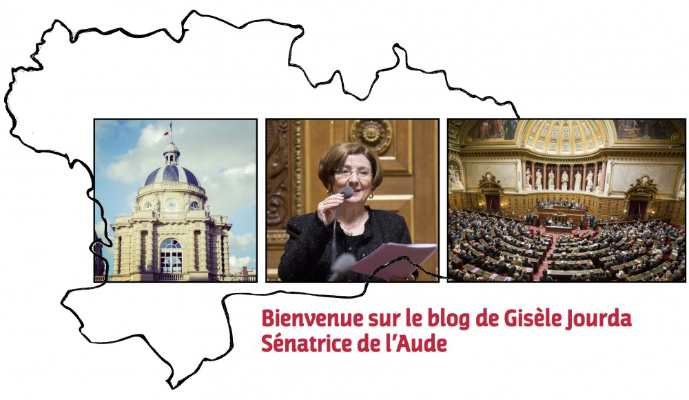 Gisèle JOURDA, Sénatrice de l'Aude
