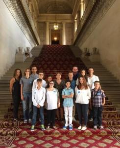 Visite du Sénat Adolescents Alzonne 15 juillet 2015