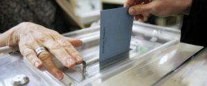Voting Seine-et-Marne, France